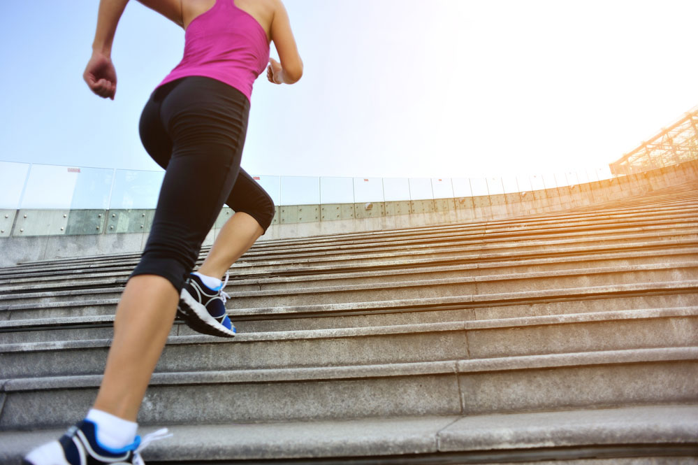 high intensity stair climbing